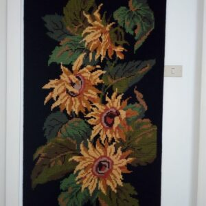 Panel with sunflowers