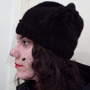 Cappellino con veletta