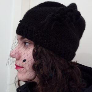Cap with veil
