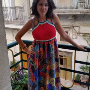 Summer ethnic long dress