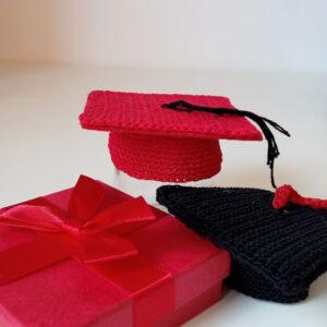 Bomboniera tocco di laurea