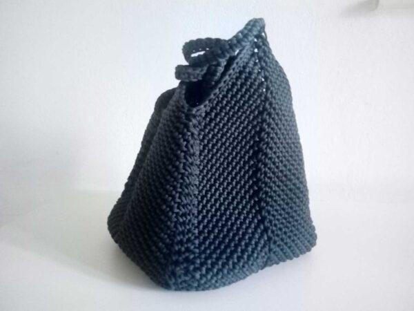 borsa-blu-esagonale