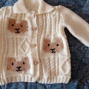 Baby's bear jacket