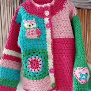 Baby's owl jacket